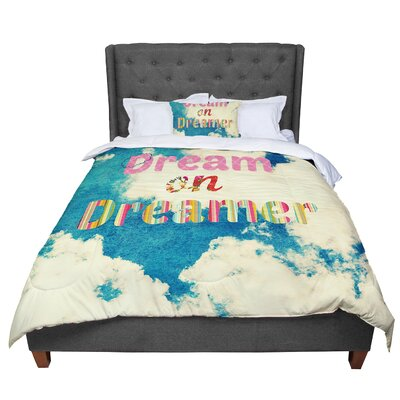 Robin Dickinson Dream on Clouds Comforter Size: Queen