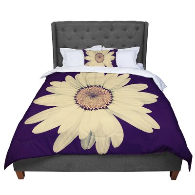 Robin Dickinson Half Crazy Comforter Size: Queen