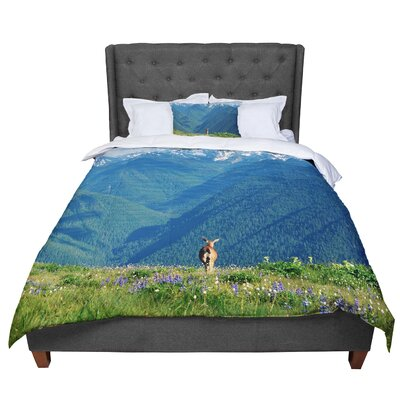 Robin Dickinsons Calling Comforter Size: King