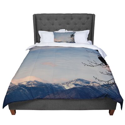 Robin Dickinson Majesty Landscape Comforter Size: King