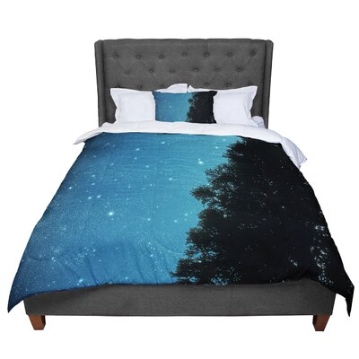 Robin Dickinson Star Light Celestial Forest Comforter Size: Twin