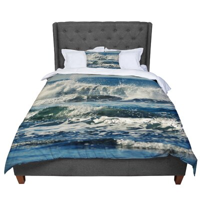 Robin Dickinson Forever Young Coastal Comforter Size: Queen