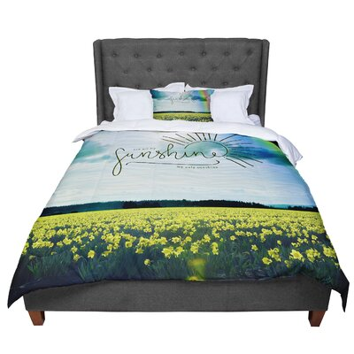 Robin Dickinson You Are My Sunshine Comforter Size: Twin
