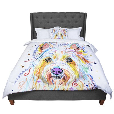 Rebecca Fischer Bella Comforter Size: Queen