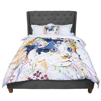 Rebecca Fischer Sophia Comforter Size: King