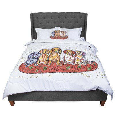 Rebecca Fischer Maksim Murray Enzo Ruby and Willy Comforter Size: King