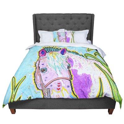 Rebecca Fischer Nemo Horse Comforter Size: Twin