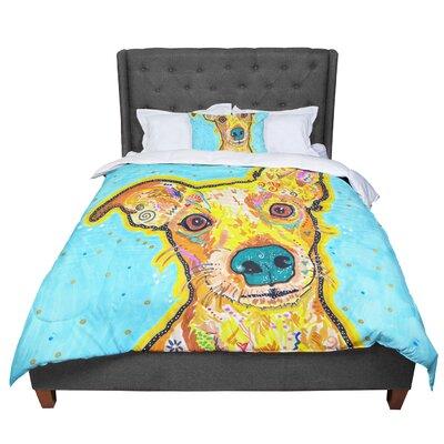 Rebecca Fischer Tanner Terrier Comforter Size: Queen