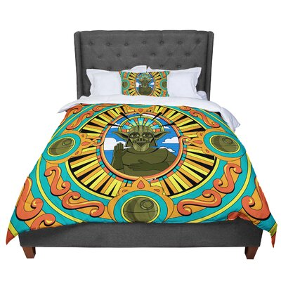 Roberlan Darth Yoda Star Wars Comforter Size: Twin
