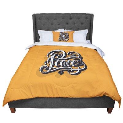 Roberlan Peace Comforter Size: King