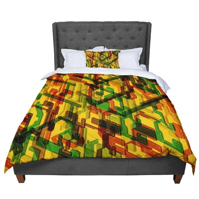 Roberlan 3 Dee Comforter Size: Queen