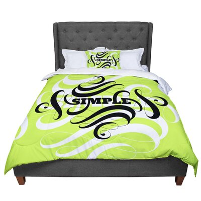 Roberlan Simple Comforter Size: King