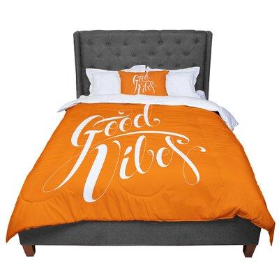 Roberlan Good Vibes Comforter Size: Twin