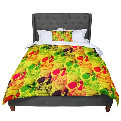 Roberlan Skullfest Comforter Size: Twin