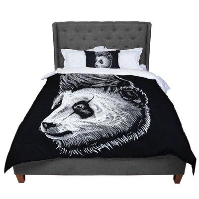 BarmalisiRTB Funky Panda Comforter Size: Twin