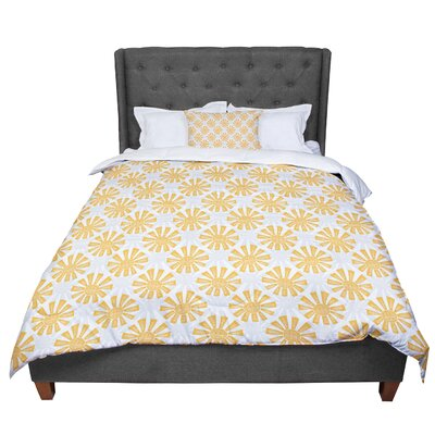 Apple Kaur Designs Sunburst Comforter Size: Twin