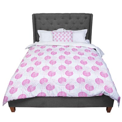 Apple Kaur Designs Wild Dandelions Comforter Size: King