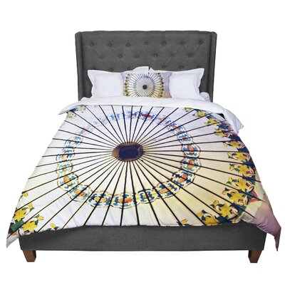 Sylvia Cook Parasol Comforter Size: Twin