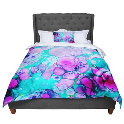 Sylvia Cook Dreaming in Color Comforter Size: Queen