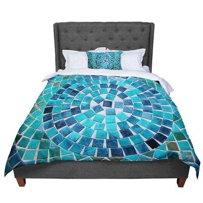 Sylvia Cook Circular Comforter Size: Queen