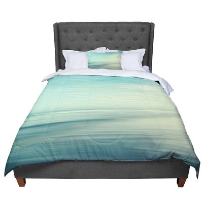 Sylvia Cook Beach Comforter Size: King