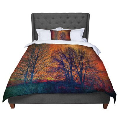 Sylvia Cook Silhouettes Comforter Size: King