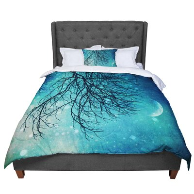 Sylvia Cook Winter Moon Comforter Size: King