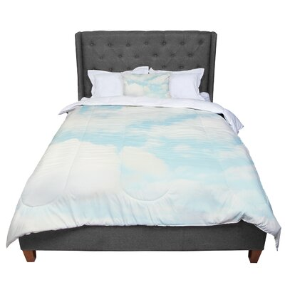 Sylvia Cook Clouds Comforter Size: Queen