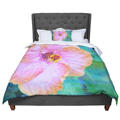 Sylvia Cook Hibiscus Comforter Size: Twin