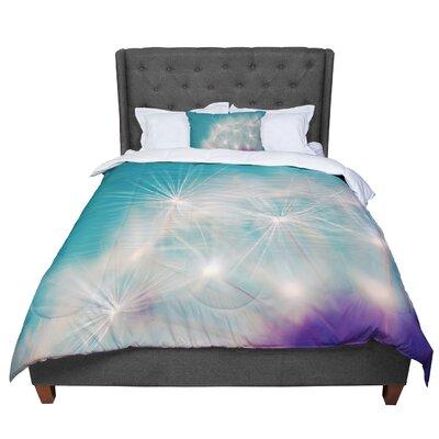 Sylvia Cook Dandelion Seedhead Comforter Size: Queen