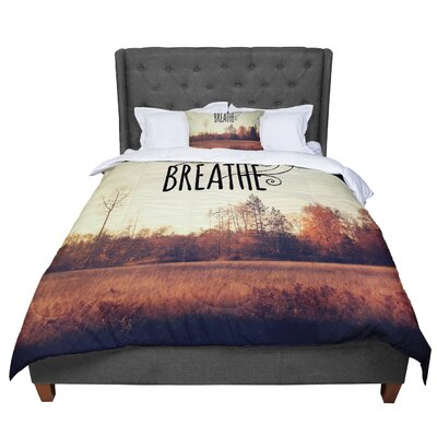 Sylvia Cook Just Breathe Comforter Size: Twin
