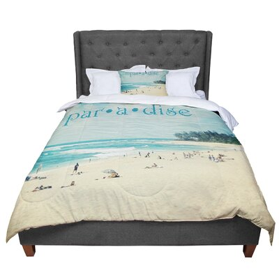 Sylvia Cook Paradise Comforter Size: Twin