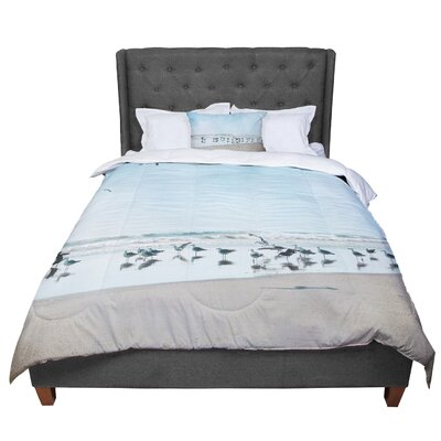 Sylvia Cook Sea Coastal Comforter Size: Queen