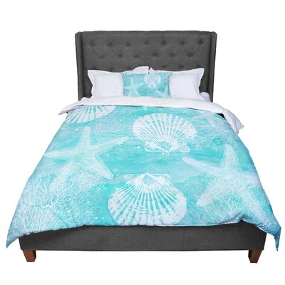 Sylvia Cook Seaside Comforter Size: Queen