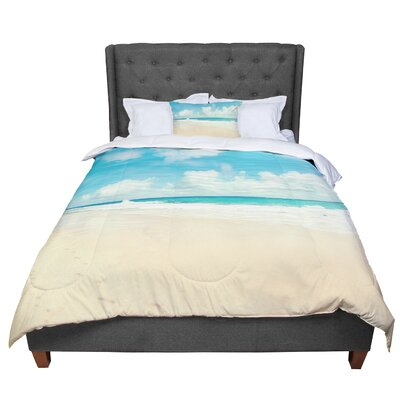 Sylvia Cook Beach Time Comforter Size: Queen