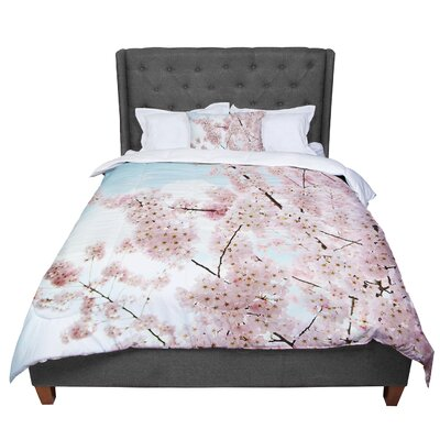 Sylvia Cook Spring Beauty Comforter Size: King