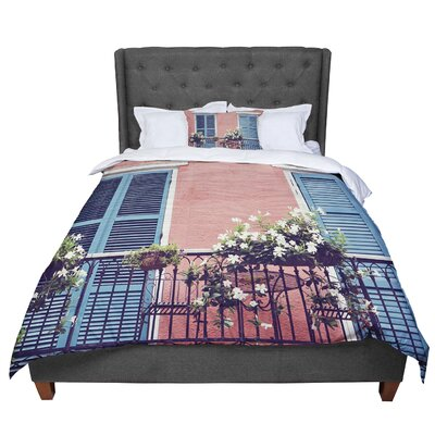 Sylvia Cook New Orleans Balcony Comforter Size: King