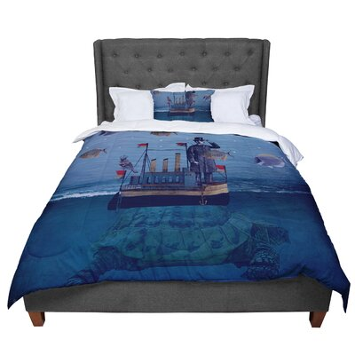 Suzanne Carter the Voyage Comforter Size: King