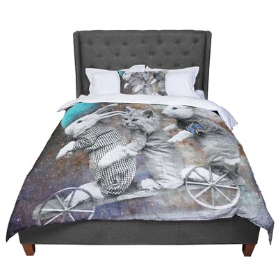 Suzanne Carter Space Travel Comforter Size: King