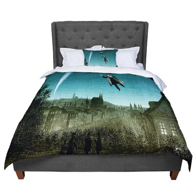 Suzanne Carter the Departure Comforter Size: Queen
