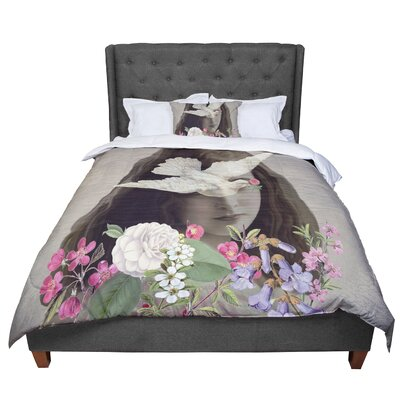 Suzanne Carter Doves Eyes Comforter Size: King