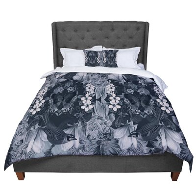 Suzanne Carter Magnolia Cushion Comforter Size: Queen