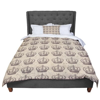 Suzanne Carter Crowns Comforter Size: Twin