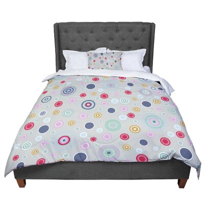 Suzanne Carter Circle I Comforter Size: King