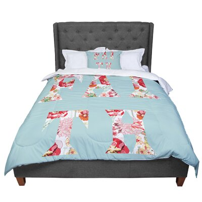 Suzanne Carter Faith Comforter Size: Twin