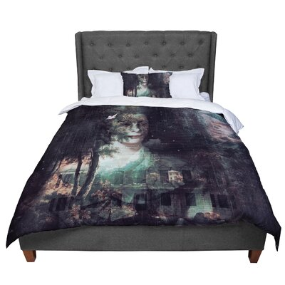Suzanne Carter Lady Grace Dark Comforter Size: King