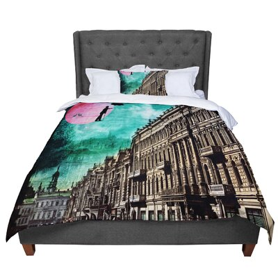 Suzanne Carter Moonlight Stroll Surreal Comforter Size: King