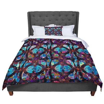 Suzanne Carter Pattern Abstract Comforter Size: Queen