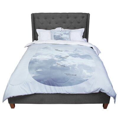 Suzanne Carter Feathers Comforter Size: Twin