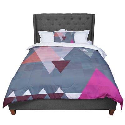 Suzanne Carter Geo II Geometric Comforter Size: Queen